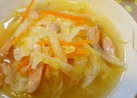 たっぷり♪キャベツの野菜スープ