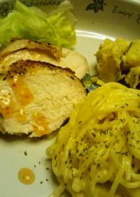 鶏むね肉のカリッ&ジューシー焼き