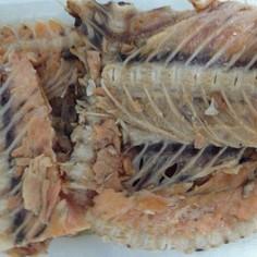 鮭の中骨煮