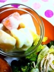 デザートに♪ヨーグルトのフルーツサラダ*の写真