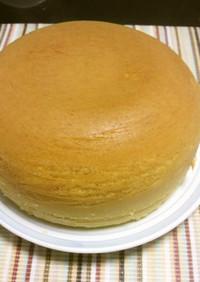 炊飯器でシフォンみたいなホットケーキ