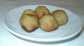 サツマイモのチーズ包み揚げ