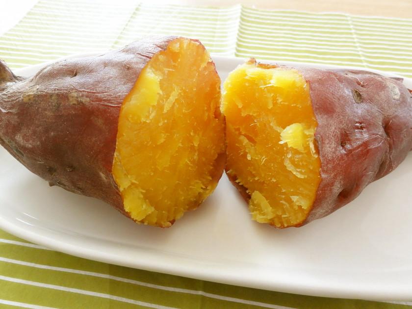 ホクホクねっとり自由自在☆炊飯器で焼き芋