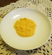 離乳食初期☆かぼちゃ豆腐の写真