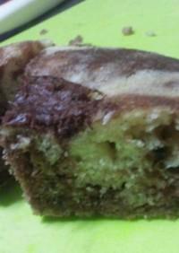 薄力粉で炊飯器ココアケーキ