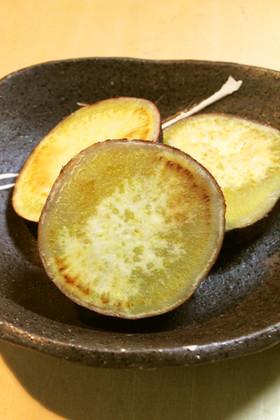 シンプル!フライパンdeさつま芋蒸し焼き