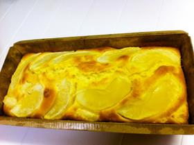 簡単☆HMでりんごバナナパウンドケーキ