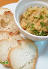 ジャガイモと鮭のリエット