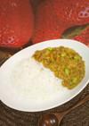 ひき肉と白菜のカレー