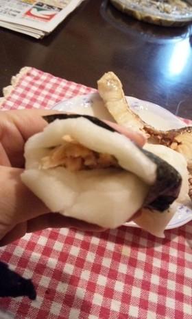 【茨城】しょーびき餅・鮭餅【正月】