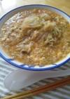 麻婆豆腐の素で簡単!春雨スープ