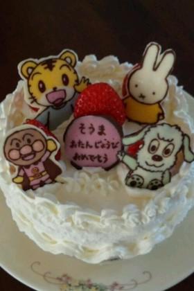 キャラチョコ ☆バースデーケーキ
