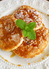 幸せ☆リコッタチーズのパンケーキ
