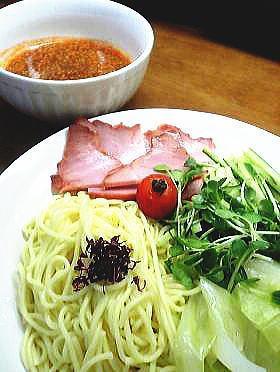 おうちで食べよ☆特製広島風つけ麺