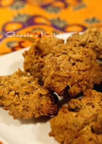 ココナッツ&ベリーのオートミールクッキー