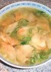 キムチワンタンスープ