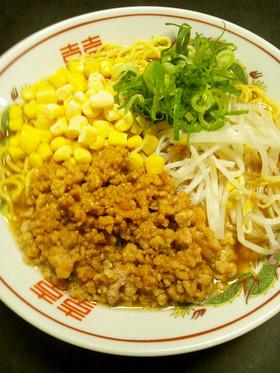 袋麺で簡単アレンジ♪DX肉味噌ラーメン