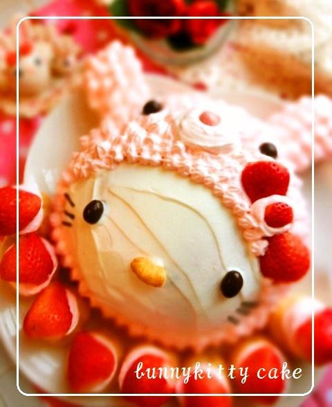 うさぎ♡キティちゃんケーキ
