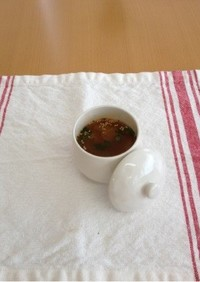 簡単キムチスープ