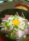 かっこめ!!塩海鮮丼!!