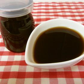 黒蜜(黒砂糖:ザラメ:水=1:1:1)