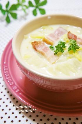 手間なし簡単♥白菜のクリームシチュー
