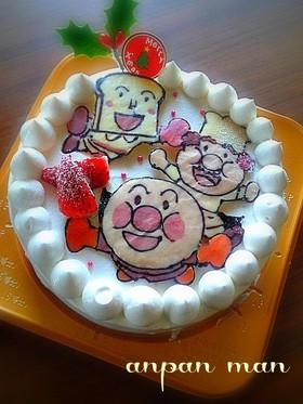 アンパンマン クリスマスケーキ