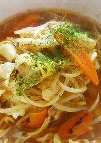 サッポロ一番麺の力中華そば醤油味を・・