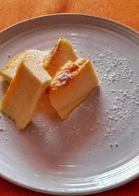 グルテンフリーで簡単☆スフレチーズケーキ