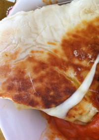 インドカレーに!ふわふわチーズナン