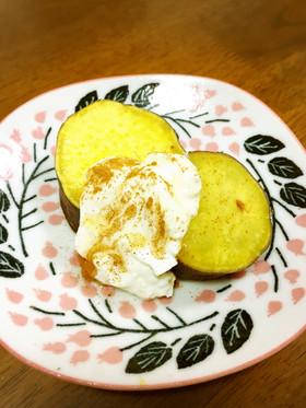 さつま芋とヨーグルトで低カロおやつ