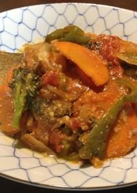 和洋折衷の極上サバ料理♪サバミソトマト