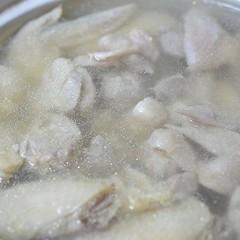 簡単!おばぁちゃんの味・鶏の水炊き