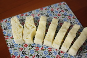 離乳食後期♪手づかみ蒸しパン