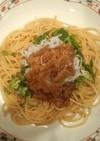 簡単★なめたけスパゲティ