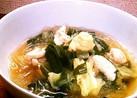 春雨スープ♡鶏だし生姜
