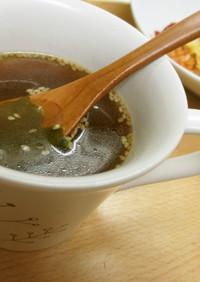 マグカップで☆ダシダスープ