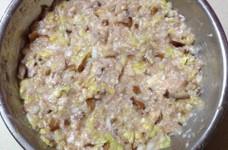 白菜と椎茸で餃子のタネ★簡単