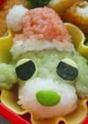 お茶犬のクリスマス☆キャラ弁