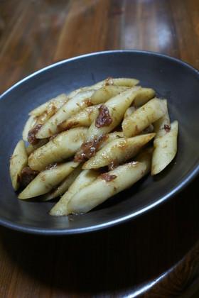 母の味♡ごぼうの梅みりん煮