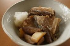 【断糖レシピ】ブリのあらと根菜の煮物