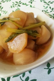 シンプル♪かぶの煮物の写真