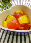 彩の一品☆パプリカの塩麹マリネ。