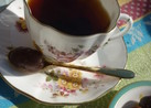 甘栗でマロン紅茶☆
