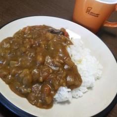 * 根菜の豆カレー *