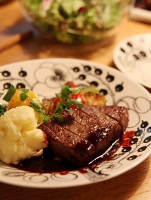 フレンチレストランのステーキソース♪