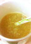 冬の朝食に☆ホットりんご生姜ドリンク