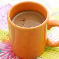おうちカフェ♡レンジでホットチョコレート