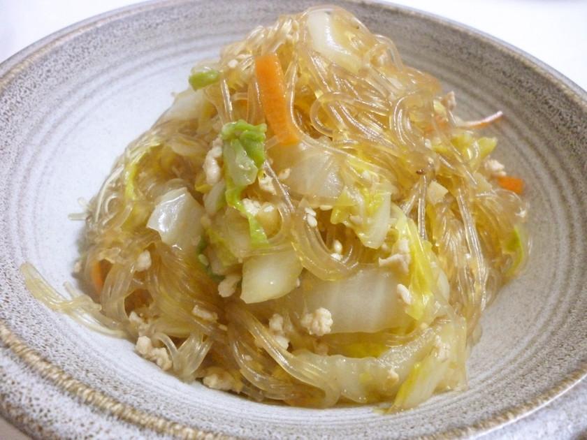 *白菜と春雨の中華炒め*