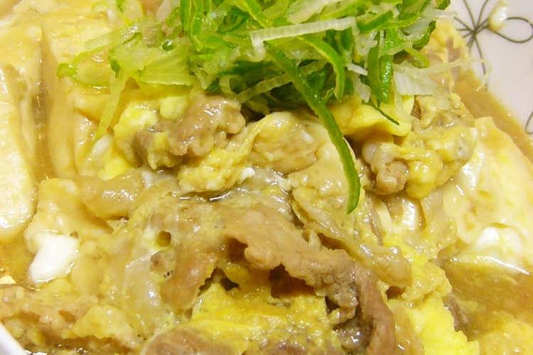 豆腐 卵 とじ